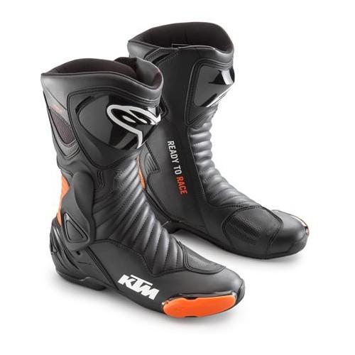 Ботинки SUPERTECH R КТМ черные/оранжевые