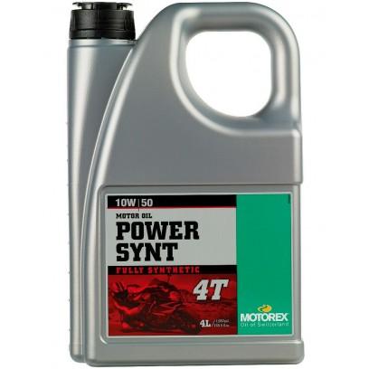 Масло моторное Motorex Power Synt 4T 10W50 (4л)