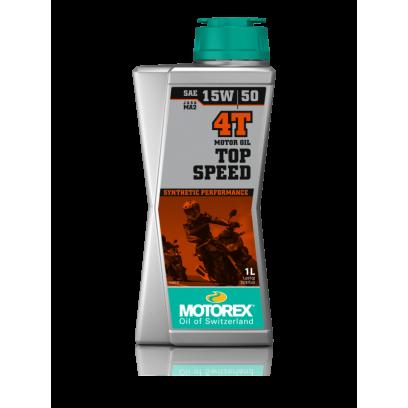 Масло моторное Motorex Top Speed 4T 15W50 (1л)