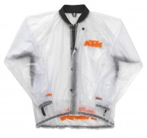 Куртка-дождевик прозрачный KTM