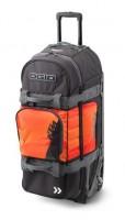Оранжевая туристическая сумка 9800